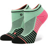 Stance W's Acapulco Low Socks Sea/Seafoam